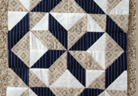 a super easy 3 fabric quilt block quilting cub Cool Quilt Patterns Using 3 Fabrics Gallery