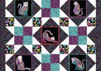 afternoon delight optional download Cool Cat Quilts Patterns