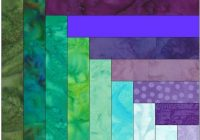 all about the log cabin quilt pattern Unique Log Cabin Square Quilt Inspirations