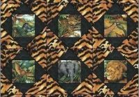animal print quilt howtofashion Stylish Animal Print Quilt Patterns Inspirations