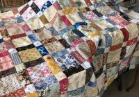 antique one patch quilt aka disappearing nine patch susies Modern Scrappy Disappearing 9 Patch Quilt