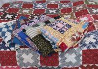 antique patchwork quilt tops lot cotton prints vintage Unique Vintage Quilt Tops Inspirations