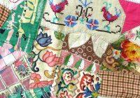 antique patchwork quilts ebay vintage patchwork duvet cover Interesting Handmade Patchwork Quilt Vintage Gallery