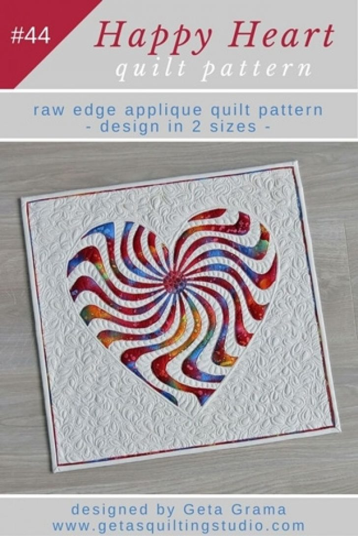 Permalink to Unique Applique Heart Quilt Patterns Inspirations