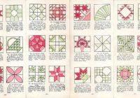 aunt martha Names Of Quilt Block Patterns Inspirations