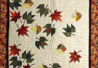 autumn leaves quilt wonderful meticulously made amish Elegant Autumn Leaf Quilt Pattern Inspirations