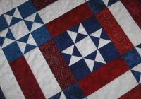 awesome redwhite blue quilt with free pattern Cozy Red White And Blue Quilt Patterns Gallery