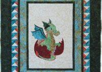 ba quilt pattern pdf dragon quilt ba shower gift ba boy quilt pattern appliqu dragon pattern dragon wallhanging pattern Elegant Applique Quilt Patterns For Babies