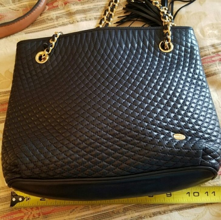 Permalink to Modern Vintage Bally Quilted Bag