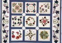baltimore album quilts miniature baltimore album quilt 32 Cool Baltimore Quilts Patterns Inspirations