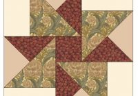 barbara brackmans material culture morris modernized hope Interesting 12 Inch Quilt Block Patterns Inspirations