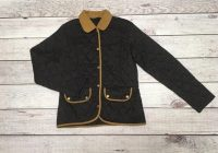 barbour womens vintage quilted jacket size 8 Cool Barbour Vintage Quilted Jacket With Cord Collar And Trims
