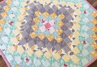 Beautiful 12 minis in 12 months mini quilt patterns miniature 9 Cool Quick Trip Around The World Quilt Pattern