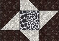 Beautiful black white quilt along block 4 crafty gemini New Black And White Quilt Block Patterns Gallery