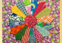 Beautiful dresden plate quilt how to free templates quilting daily 9 Cozy Dresden Plate Quilt Pattern Template Gallery