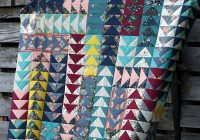 Beautiful flying geese quilt crochet spiration Modern Quilt Pattern Flying Geese