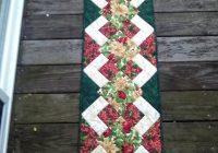 Beautiful free tutorial christmas runner tutorial karen paschke Cool Simple Quilted Table Runner Patterns