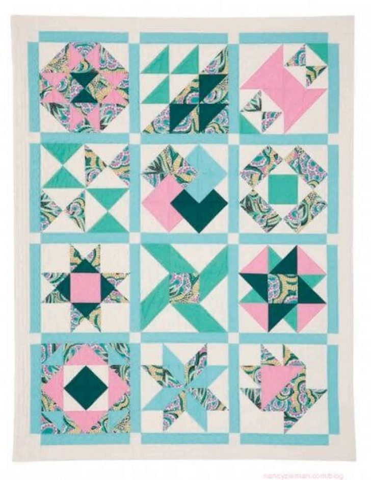 Permalink to 9 Beautiful Triangle Quilt Blocks Inspirations
