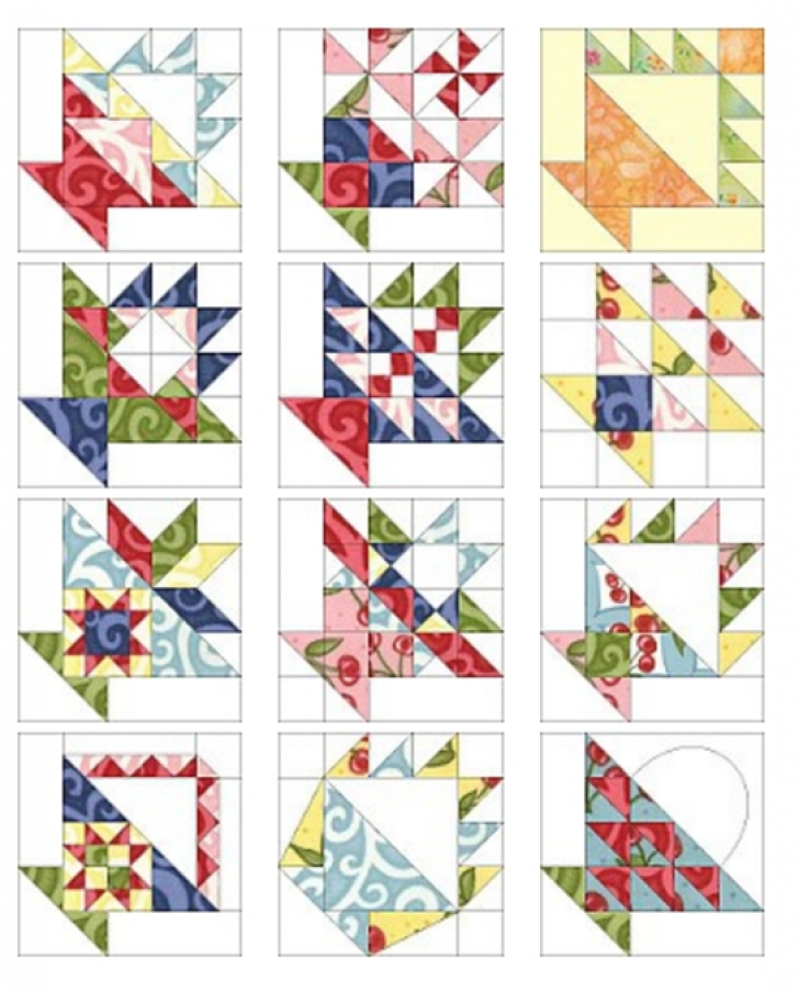 Permalink to 11 Interesting Basket Quilt Block Patterns Inspirations