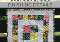 beautiful quilt binding quiltologie mini mania the Tips For Sewing Mini Quilts Gallery
