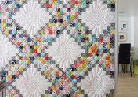 Beautiful quilting land ivas scrappy irish chain quilt 10 Modern Irish Chain Quilt Patterns Inspirations