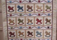 Beautiful rocking horse quilt horse quilt quilt sewing patterns 10 Cool Rocking Horse Quilt Pattern
