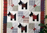 Beautiful scottie dogs quilting epattern 9 Beautiful Scottie Dog Quilt Pattern Gallery