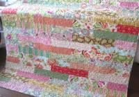 beautiful strip quilt patterns save time Cool Strip Piecing Quilt Patterns
