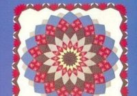 Beautiful the quick and easy giant dahlia quilt on the sewing machine step step instructions and full size templates for three quilt sizes suzzy c 10 Cozy Giant Dahlia Quilt Pattern Gallery