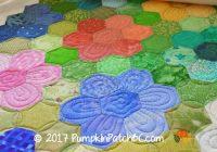 Beautiful the story behind the quilt grandmothers flower garden apqs 10 Modern Grandmother Flower Garden Quilt Pattern Gallery