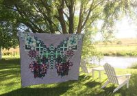 Beautiful tula pink butterfly quilt said with love 10   Tula Pink Butterfly Quilt Pattern