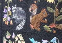 Beautiful turn turn turn animal quilts art quilts quilts 11 Cozy Woodland Creatures Quilt Pattern Inspirations