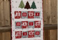 big pocket family advent calendar pattern 9 Cool Quilted Advent Calendar Pattern Inspirations