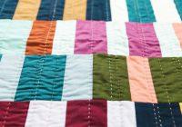 big stitch hand quilting tara faughnan creativebug Elegant Hand Quilting Stitch Patterns Inspirations