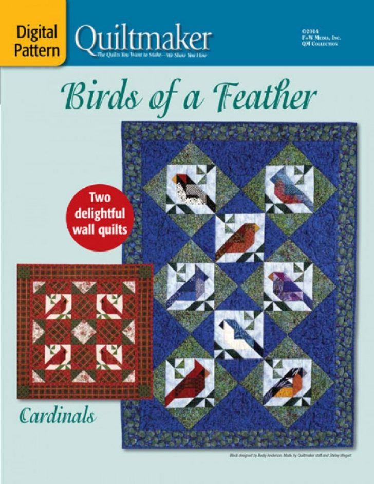 Permalink to Modern Birds Of A Feather Quilt Pattern Inspirations