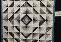 black whitegray and it is beautiful i put it on this 9   Quilt Patterns Black And White Gallery