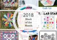 block of the month sew alongs for 2020 go go kim Cool Quilt Of The Month Patterns Inspirations