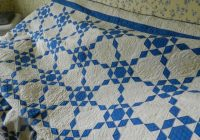 blue and white antique quilt pattern name ozark diamonds Cool Vintage Quilt Pattern Names