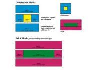 bricks and cobblestones quilt block pattern Interesting Cobblestone Quilt Pattern