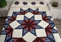 broken star log cabin quilt magnificent skillfully made Stylish Lone Star Log Cabin Quilt Pattern Free Inspirations