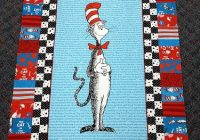 cat in the hat is on the way cat in the hat quilts ba Interesting Cat In The Hat Quilt Pattern