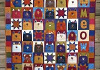 cat quilts on bluprint feline fabulous quilting patterns Cozy Cat Quilt Patterns Inspirations