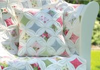 cathedral window quilt pillow pattern Elegant Cathedral Window Quilt Pattern