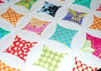 cathedral window quilts patterns orocity Mock Cathedral Window Quilt Pattern Inspirations