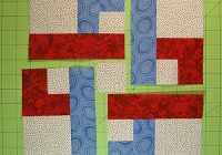 chain link quilt block pattern 7 10 12 and 14 Interesting Simple Block Quilt Patterns