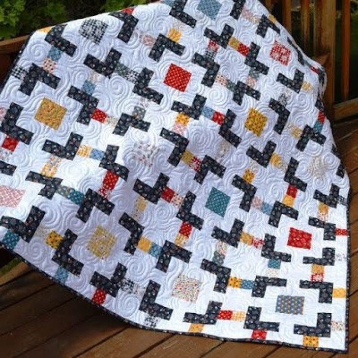 Permalink to Interesting Charm Square Quilt Pattern Gallery