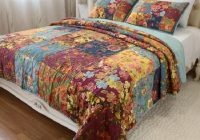 chausub vintage patchwork quilt set 3pcs washed cotton Vintage King Size Quilts Inspirations