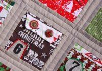 christmas advent calendar quilt free pattern download Modern Advent Calendar Quilt Pattern Gallery