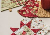 christmas mug rug set pattern Stylish Quilted Mug Rug Patterns Gallery