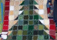 christmas tree rag quilt kit call for price Christmas Tree Rag Quilt Pattern Gallery